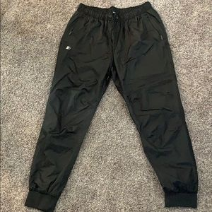 Pants - Swish Startar Pants Wind Breaker Black